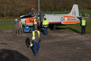 A busy scene just prior to todays engine run