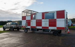 Our new runway caravan - an impressive beast, well worth saving and loads of potential!