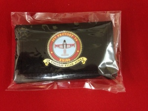 Wallet - canvas with XS186 crest printed on front - £5.00